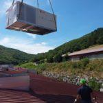 Unité de climatisation du rooftop